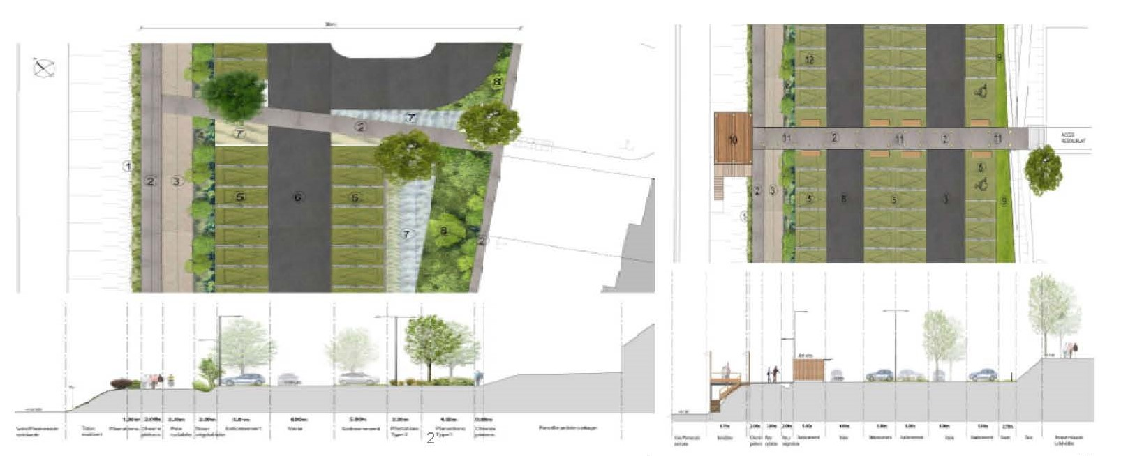 04 projet ABORDS DU LAC MESNIL ST PERE